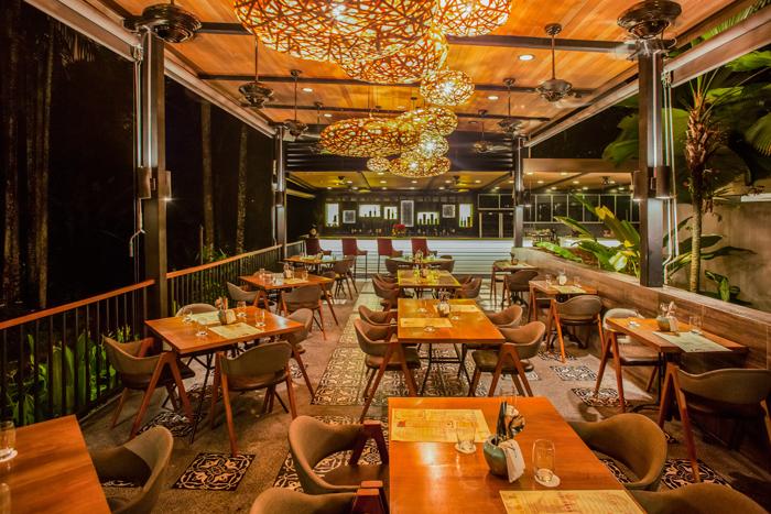 Dining at The Halia Restaurant
