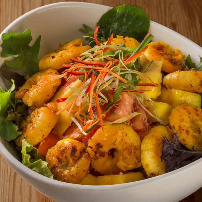 Lemongrass & Ginger Prawn Salad