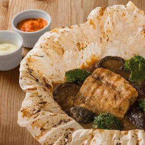Paperbag Oven-Baked Seabass Fillet