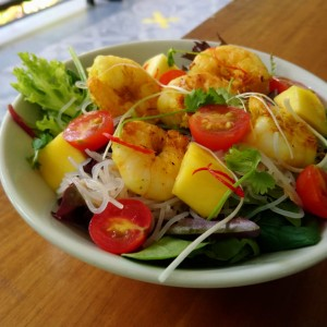 Lemongrass & Ginger Prawn Salad
