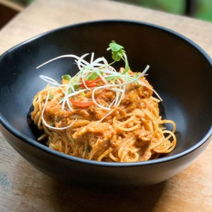 50% OFF 2ND ITEM!<br>Halia's Singapore-style Spicy Chilli Crab Spaghettini