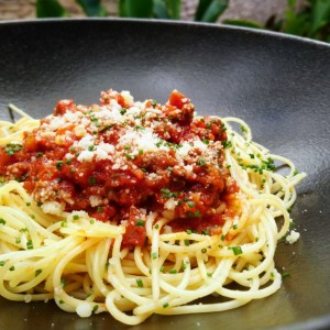 DINNER DEALS - 50% OFF 2ND ITEM!<br>Wagyu Beef Bolognaise Spaghettini