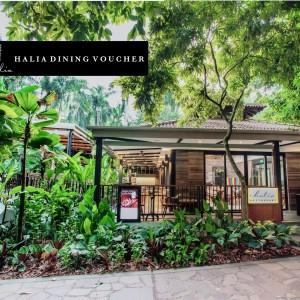 Halia Dining Vouchers