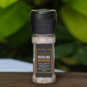 Maldon Sea Salt with Reusable Grinder - Woodland Mushroom