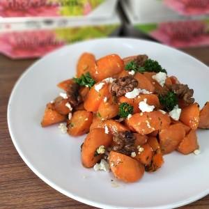 Festive Feasts - Ginger & Orange Glazed Carrot with Walnut