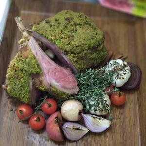 Festive Feasts - Herb Crusted Rack of Lamb