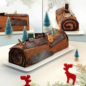 Festive Feasts - Chocolate Log Cake