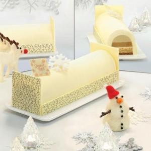 Festive Feasts - Soursop Lychee Log Cake