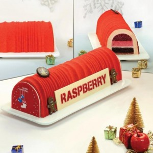 Festive Feasts - Tanariva Raspberry Log Cake