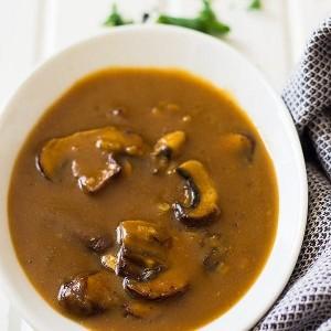 Festive Feasts - Mushroom Sauce